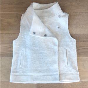 BB Dakota cozy stylish ivory vest